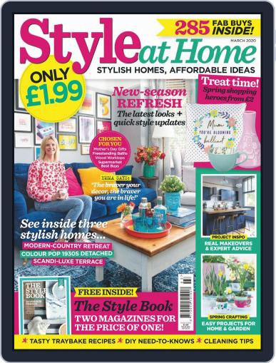 Style At Home United Kingdom (Digital) March 1st, 2020 Issue Cover