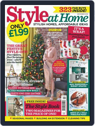 Style At Home United Kingdom (Digital) December 1st, 2019 Issue Cover