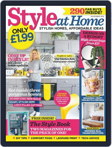 Style At Home United Kingdom (Digital) November 1st, 2019 Issue Cover