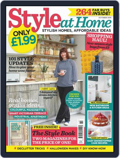 Style At Home United Kingdom (Digital) October 1st, 2019 Issue Cover
