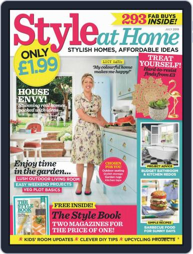 Style At Home United Kingdom (Digital) July 1st, 2019 Issue Cover