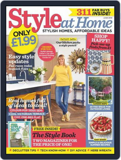 Style At Home United Kingdom (Digital) June 1st, 2019 Issue Cover