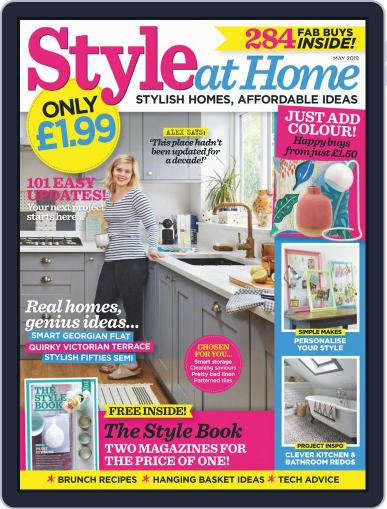 Style At Home United Kingdom (Digital) May 1st, 2019 Issue Cover