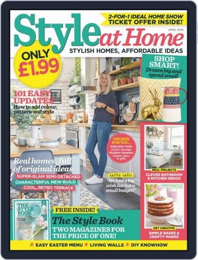 Style At Home United Kingdom (Digital) April 1st, 2019 Issue Cover