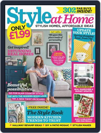 Style At Home United Kingdom (Digital) March 1st, 2019 Issue Cover