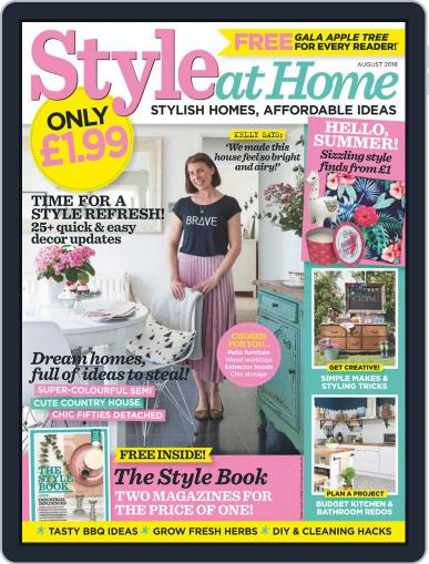Style At Home United Kingdom (Digital) August 1st, 2018 Issue Cover