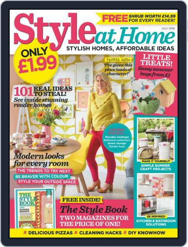 Style At Home United Kingdom (Digital) July 1st, 2018 Issue Cover