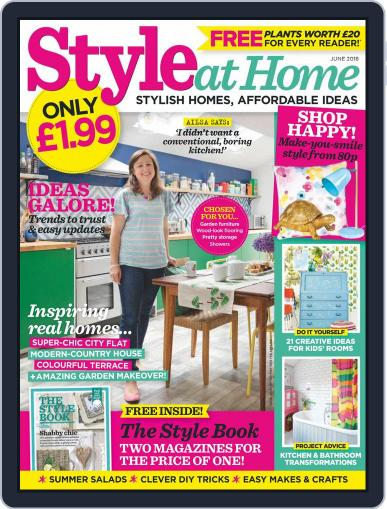 Style At Home United Kingdom (Digital) June 1st, 2018 Issue Cover