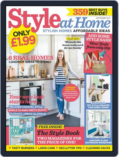 Style At Home United Kingdom (Digital) September 1st, 2017 Issue Cover
