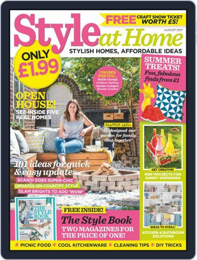 Style At Home United Kingdom (Digital) August 1st, 2017 Issue Cover