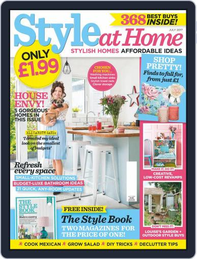 Style At Home United Kingdom (Digital) July 1st, 2017 Issue Cover