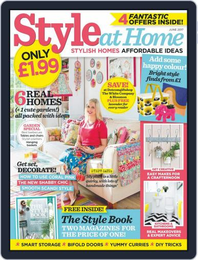 Style At Home United Kingdom (Digital) June 1st, 2017 Issue Cover