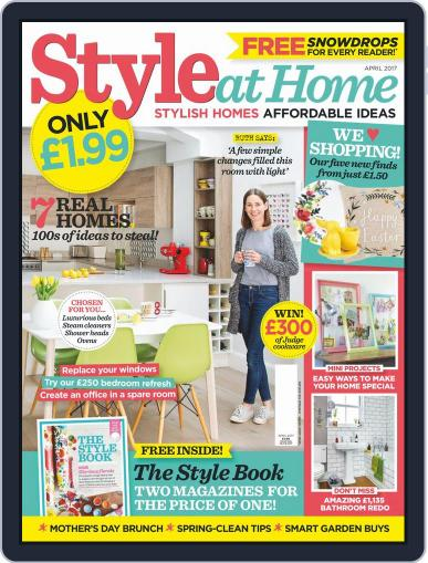 Style At Home United Kingdom (Digital) April 1st, 2017 Issue Cover