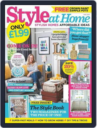 Style At Home United Kingdom (Digital) March 29th, 2017 Issue Cover