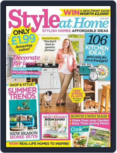 Style At Home United Kingdom (Digital) April 27th, 2016 Issue Cover