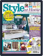 Style At Home United Kingdom (Digital) Subscription September 30th, 2014 Issue