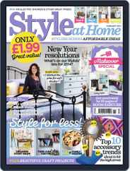 Style At Home United Kingdom (Digital) Subscription January 2nd, 2014 Issue