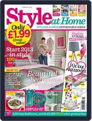 Style At Home United Kingdom (Digital) Subscription January 1st, 2013 Issue