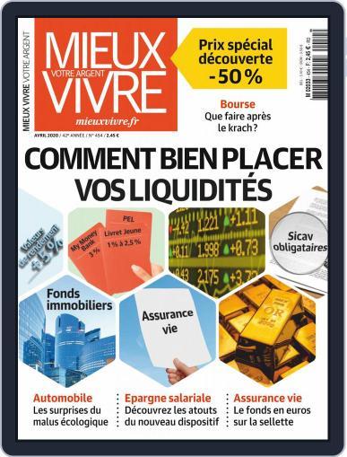 Mieux Vivre Votre Argent (Digital) April 1st, 2020 Issue Cover