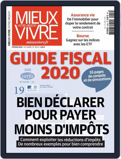 Mieux Vivre Votre Argent (Digital) February 1st, 2020 Issue Cover