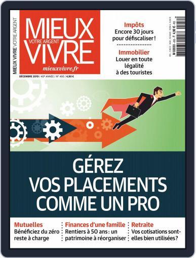 Mieux Vivre Votre Argent (Digital) December 1st, 2019 Issue Cover