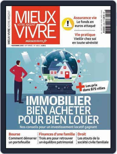 Mieux Vivre Votre Argent (Digital) November 1st, 2019 Issue Cover