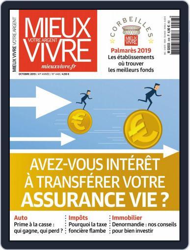 Mieux Vivre Votre Argent (Digital) October 1st, 2019 Issue Cover