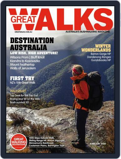 Great Walks (Digital) June 1st, 2020 Issue Cover