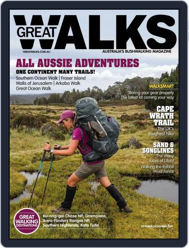 Great Walks (Digital) October 1st, 2019 Issue Cover