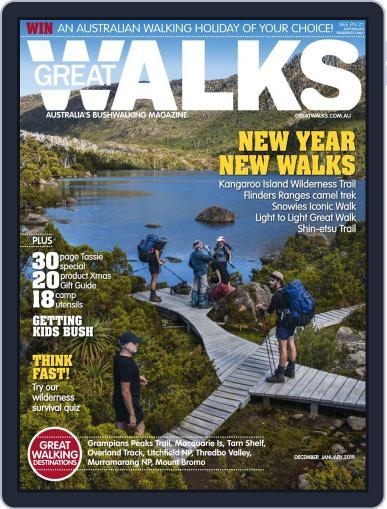 Great Walks (Digital) December 1st, 2018 Issue Cover