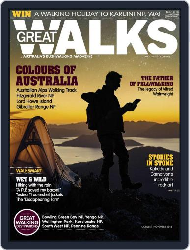 Great Walks (Digital) October 1st, 2018 Issue Cover