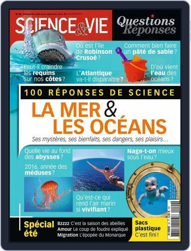 Science et Vie Questions & Réponses June 16th, 2016 Digital Back Issue Cover