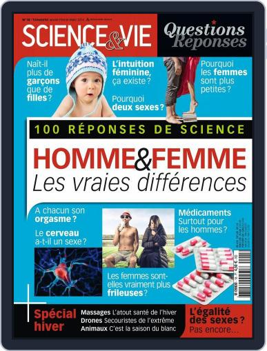 Science et Vie Questions & Réponses December 10th, 2015 Digital Back Issue Cover