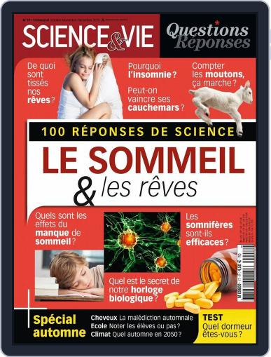 Science et Vie Questions & Réponses September 30th, 2015 Digital Back Issue Cover
