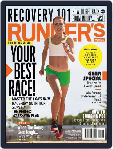 Runner's World South Africa (Digital) March 1st, 2020 Issue Cover
