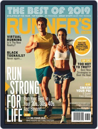 Runner's World South Africa (Digital) November 1st, 2019 Issue Cover