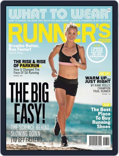 Runner's World South Africa (Digital) September 1st, 2019 Issue Cover