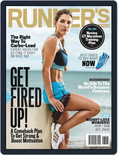 Runner's World South Africa (Digital) May 1st, 2019 Issue Cover