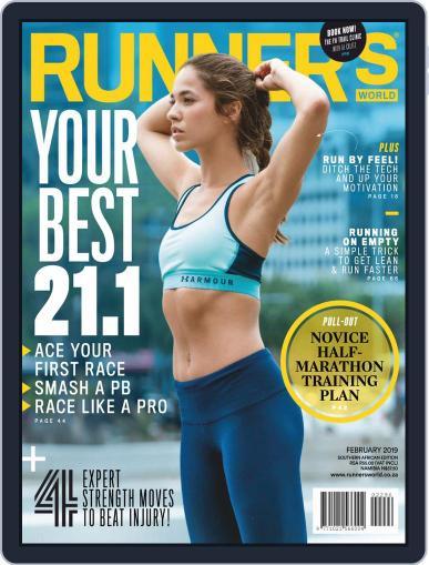 Runner's World South Africa (Digital) February 1st, 2019 Issue Cover
