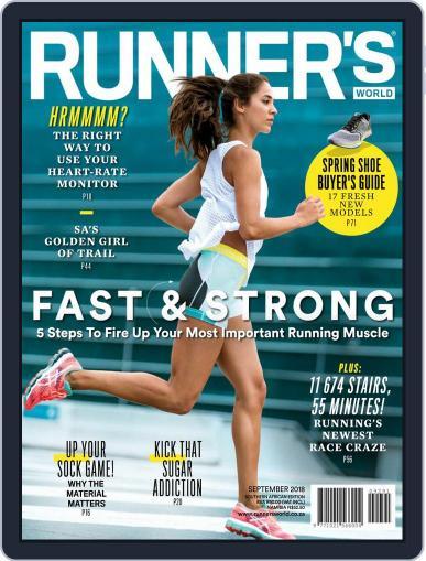 Runner's World South Africa (Digital) September 1st, 2018 Issue Cover