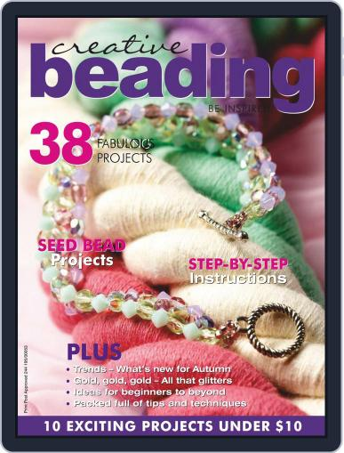 Creative Beading (Digital) April 1st, 2020 Issue Cover