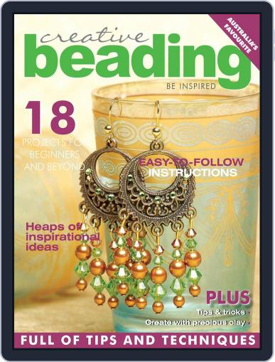 Creative Beading (Digital) January 1st, 2018 Issue Cover