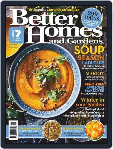 Better Homes and Gardens Australia (Digital) August 1st, 2020 Issue Cover