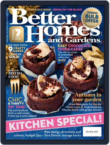 Better Homes and Gardens Australia (Digital) April 1st, 2020 Issue Cover