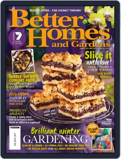Better Homes and Gardens Australia (Digital) August 1st, 2017 Issue Cover