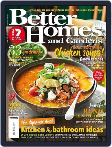 Better Homes and Gardens Australia (Digital) June 1st, 2017 Issue Cover