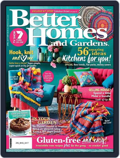 Better Homes and Gardens Australia (Digital) April 1st, 2017 Issue Cover