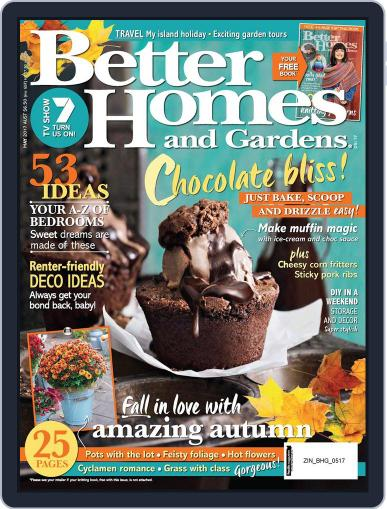 Better Homes and Gardens Australia (Digital) March 29th, 2017 Issue Cover