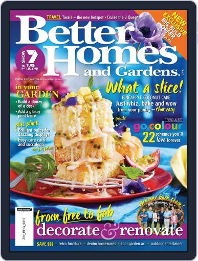 Better Homes and Gardens Australia (Digital) March 1st, 2017 Issue Cover
