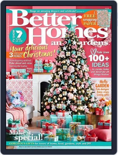 Better Homes and Gardens Australia (Digital) December 1st, 2016 Issue Cover